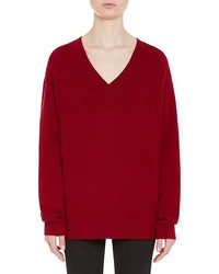 Wool cashmere oversized sweater medium 5387658