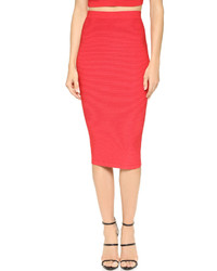 Knit pencil skirt medium 634236