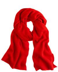 Cashmere ribbed scarf medium 117847