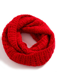 ChicNova Red Hollow Out Knitted Neck Wrap
