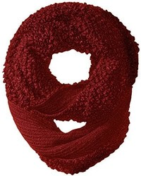 Jessica Simpson Solid Looped Yarn Knit Eternity Scarf