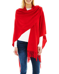 jcpenney Mixit Mixit Ribbed Wrap