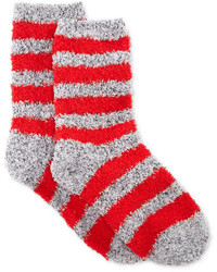 Charter Club Marled Stripe Butter Socks Only At Macys