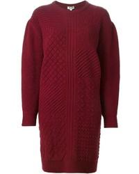 Kenzo Textured Sweater Dress