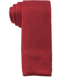 Knit solid slim tie medium 387782