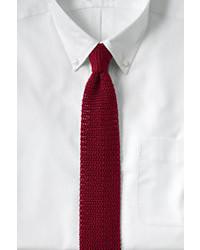 Classic Silk Knit Necktie Whitexl