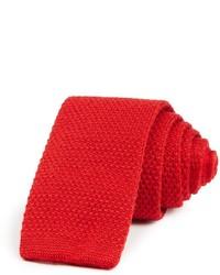 The store at bloomingdales solid knit skinny tie medium 387784