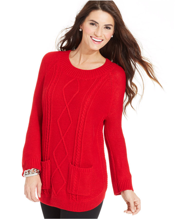 Jpr A Cable Knit Tunic Sweater | Where to buy & how to wear