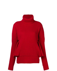 Antonio Berardi Ruffle Sleeve Sweater