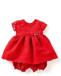 Jayne Copeland 12 24 Months Lace Christmas Dress