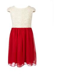 Ruby Rox 7 16 Lace Chiffon Dress