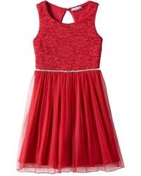 Speechless Girls 7 16 Plus Size Glitter Lace Dress