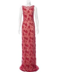Gucci Beaded Lace Gown