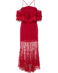 Alice McCall Electric Woman Halter Lace Dress