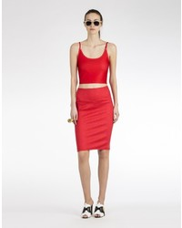 Cynthia Rowley Bonded Pencil Skirt