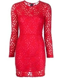 Roseanna Lace Overlay Dress