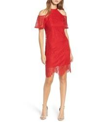 Lace cold shoulder dress medium 6747952