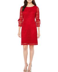 2056788eaf9e R K Originals 34 Sleeve Lace Shift Dress