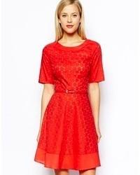 Crochet lace dress medium 66370