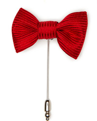 Perry Ellis Grosgrain Bow Lapel Pin