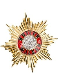 Wilson Butler And 1980s Star Emblem Brooch