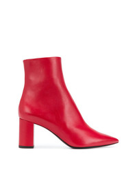 Saint Laurent Pointed Ankle Boots