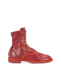 Guidi Zip Detail Boots