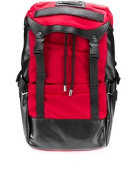 VERSACE JEANS COUTURE Double Buckle Backpack