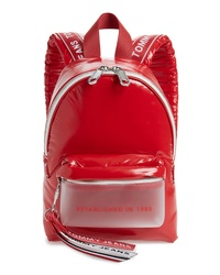 Tommy Jeans Logo Strap Vinyl Mini Backpack