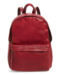 Madewell Lorimer Leather Backpack