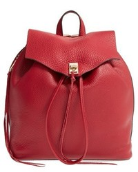Rebecca Minkoff Darren Leather Backpack Black