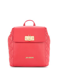 Love Moschino Small Twist Lock Backpack