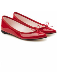 Repetto Brigitte Patent Leather Ballerinas