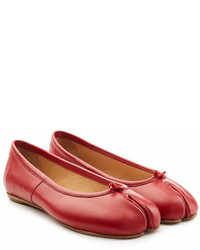 Maison Margiela Leather Split Toe Ballerinas