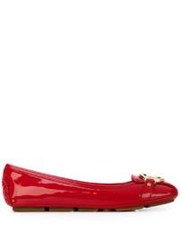 MICHAEL Michael Kors Michl Michl Kors Logo Ballerina Flats