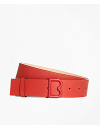 Brooks Brothers 1 12 Leather B Buckle Belt
