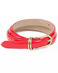 American Apparel Skinny Patent Belt