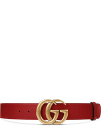 540623aff Gucci Leather Belt With Feline Buckle Out of stock · Gucci Crocodile Belt  With Double G Buckle