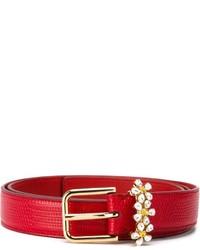 Dolce & Gabbana Daisy Crystal Belt