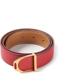 Hermes Herms Vintage Stirrup Buckle Belt