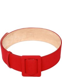 Fausto Puglisi Leather Cady Belt