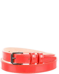 3.1 Phillip Lim Leather Skinny Belt