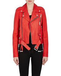 Ben Taverniti Unravel Project Leather Biker Jacket