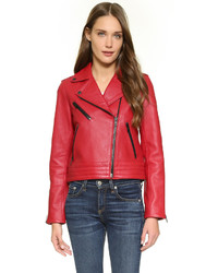 Rag & Bone Jean Chrystie Leather Jacket