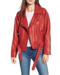 Hudson Jeans Leather Jacket