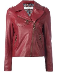 Philosophy di lorenzo serafini zipped biker jacket medium 1159212