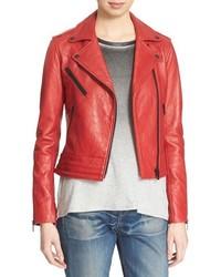 Rag and Bone Rag Bonejean Chrystie Leather Moto Jacket