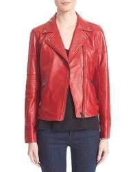 Truth Pride Leather Moto Jacket