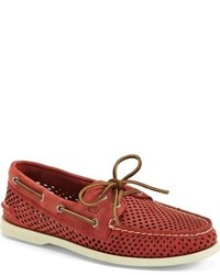Sperry Authentic Original Perforated Leather Boat Shoe
