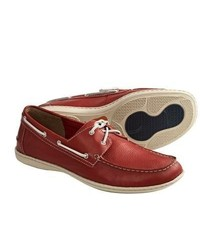 Henri Boat Shoes Red Carpet Full Grain